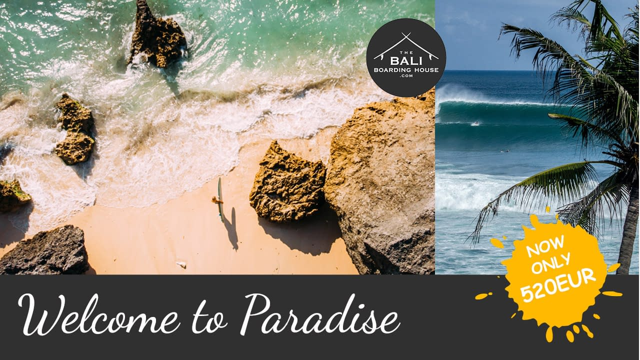 the bali boarding house welcome to paradise package 520EUR