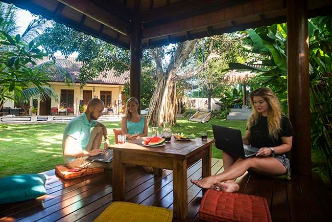 the bali boarding house about us