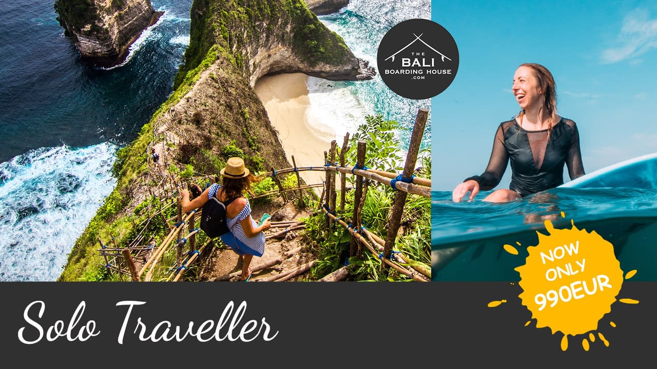 the bali boarding house solo traveller package 990EUR